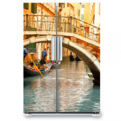 Naklejka na lodówkę - Venice