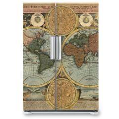 Naklejka na lodówkę - Ancient map