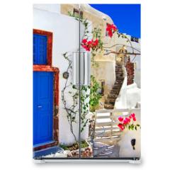 Naklejka na lodówkę - traditional Greek islands series - santorini