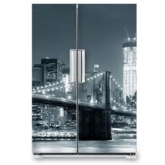 Naklejka na lodówkę - New York City Brooklyn Bridge