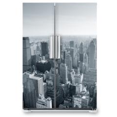 Naklejka na lodówkę - New York City skyline black and white