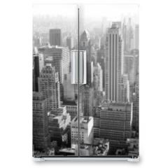 Naklejka na lodówkę - Urban architecture