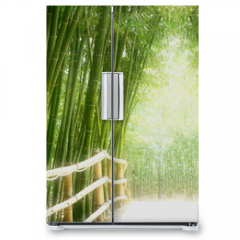 Naklejka na lodówkę - Bambus-Allee