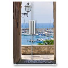 Naklejka na lodówkę - View of Otranto. Puglia. Italy.
