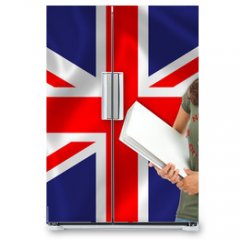 Naklejka na lodówkę - Learn English