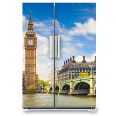 Naklejka na lodówkę - Big Ben and Houses of Parliament