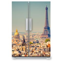 Naklejka na lodówkę - Eiffel Tower