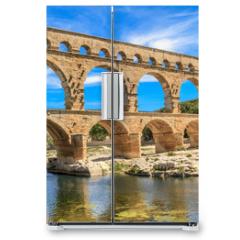 Naklejka na lodówkę - Pont du Gard, Nimes, Provence, France