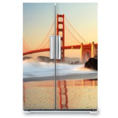 Naklejka na lodówkę - Golden Gate Bridge San Francisco