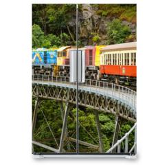 Naklejka na lodówkę - Kuranda Scenic Train, Queensland, Australia