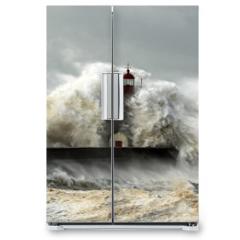 Naklejka na lodówkę - Windy Coast