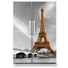 Naklejka na lodówkę - Eiffel tower, Paris.