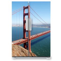 Naklejka na lodówkę - Golden Gate Bridge