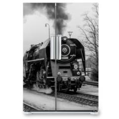 Naklejka na lodówkę - Steam train