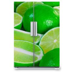 Naklejka na lodówkę - lime 4