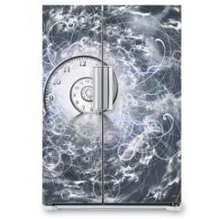 Naklejka na lodówkę - Time and Quantum Physics