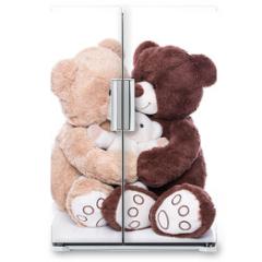 Naklejka na lodówkę - Teddybären - Familie mit Mutter, Vater und Kind
