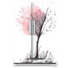 Naklejka na lodówkę - Albero