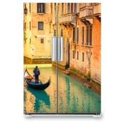 Naklejka na lodówkę - Canal in Venice