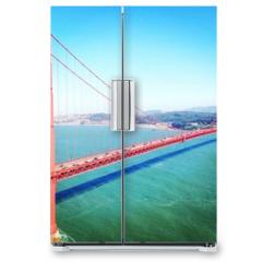 Naklejka na lodówkę - Golden Gate