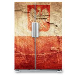 Naklejka na lodówkę - Poland flag