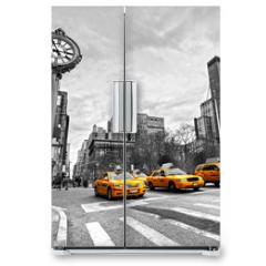 Naklejka na lodówkę - 5th Avenue, New York City.