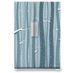 Naklejka na lodówkę - Winterwlad