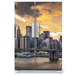Naklejka na lodówkę - New York City Skyline