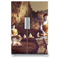 Naklejka na lodówkę - Buddhas garden