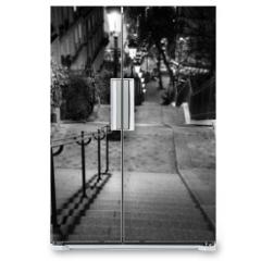 Naklejka na lodówkę - Escalier de Montmartre