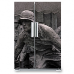 Naklejka na lodówkę - Warsaw insurection monument