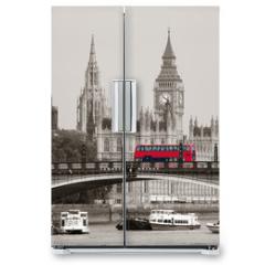 Naklejka na lodówkę - London