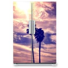 Naklejka na lodówkę - Laguna beach CA