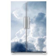 Naklejka na lodówkę - Dramatic sky with stormy clouds