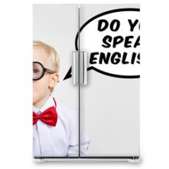 Naklejka na lodówkę - Do you speak english?