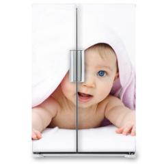 Naklejka na lodówkę - bébé