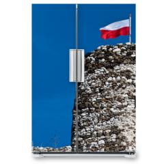 Naklejka na lodówkę - Mirow castle