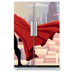 Naklejka na lodówkę - Superhero Watch 2