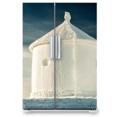 Naklejka na lodówkę - Winter