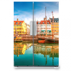 Naklejka na lodówkę - Nyhavn Kopenhagen