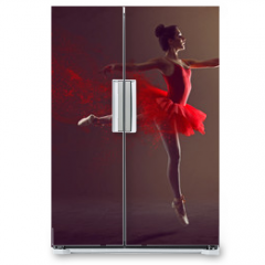 Naklejka na lodówkę - Ballerina