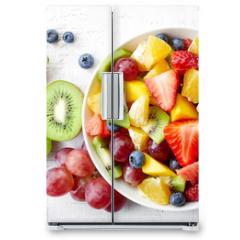 Naklejka na lodówkę - Fresh fruit salad