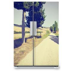 Naklejka na lodówkę - Cypress Alley