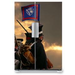 Naklejka na lodówkę - nineteenth century soldiers marching