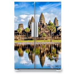 Naklejka na lodówkę - Angkor Wat