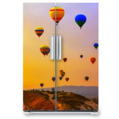 Naklejka na lodówkę - balloons CappadociaTurkey.