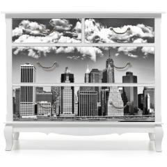 Naklejka na meble - Manhattan skyline