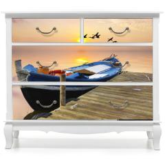 Naklejka na meble - vacaciones y tiempo libre en el mar