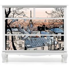 Naklejka na meble - Montmartre in Paris
