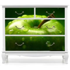 Naklejka na meble - green apple
